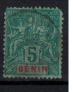 BENIN         N°  YVERT    36   ( 1 )   2° Choix  OBLITERE       ( O   2/33 ) - Bénin (1892-1894)