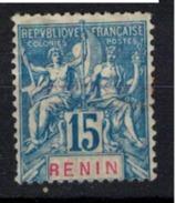 BENIN         N°  YVERT    38     ( 2 )      OBLITERE       ( O   2/33 ) - Bénin (1892-1894)