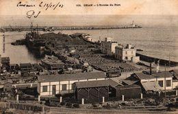 ALGERIE - ORAN L'ENTREE DU PORT - Oran
