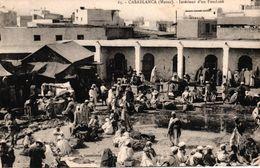 MAROC - CASABLANCA - INTERIEUR D'UN FONDOUK - Casablanca