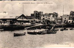 MAROC - CASABLANCA - DEBARCADERE DE MARCHANDISES - Casablanca