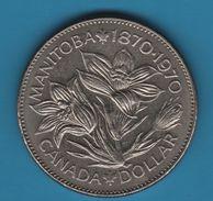 CANADA 1 DOLLAR 1970 MANITOBA - Canada