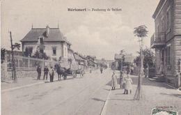 Alte Ansichtskarte Aus Héricourt -Faubourg De Belfort- - Francia