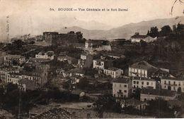 ALGERIE - BOUGIE - VUE GENERALE ET LE FORT BARRAL - Bejaia (Bougie)