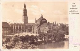 ALTE Foto- AK   KIEL / Schl.-H. - Adolf Hitler Platz Mit...... - 1940 Mit Deut. Feldpost Gelaufen - Kiel
