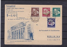 DDR, Nr. 289/92 FDC - FDC: Covers