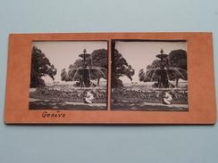Genève - Anno 19?? ( Stereo Photo Amateur (?) Voir Photo Pour Detail ) ! - Photos Stéréoscopiques