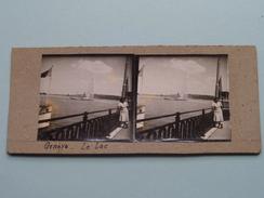 Genève Le LAC - Anno 19?? ( Stereo Photo Amateur (?) Voir Photo Pour Detail ) ! - Photos Stéréoscopiques