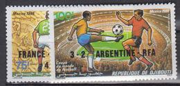 DJIBOUTI       1986         PA       N .  227 / 228        COTE     3 . 65      EUROS        ( S 293 ) - Djibouti (1977-...)