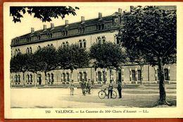 CPA  VALENCE La Caserne Du 504e Chars D'Assaut     Joli Plan Peu Courant     Très Bon état - Casernes