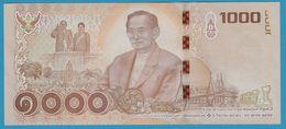 THAILANDE 1000 Baht 2017 King Rama IX As Aged Monarch Serial#  5K - Thailand