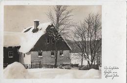 BAD-RAGAZ → Sekretärschule (Felix Preiswerk) Glückwunschkarte Anno 1945 - SG St. Gall