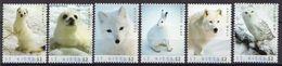 St Kitts MNH Arctic Animals Set And SS - Postzegels