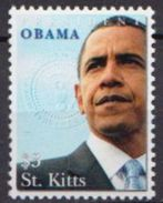 St Kitts MNH Barack Obama Stamp - Altri