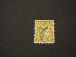 NEW GUINEA - 1932/4 UCCELLO  4 P. - TIMBRATO/USED - Papua Nuova Guinea