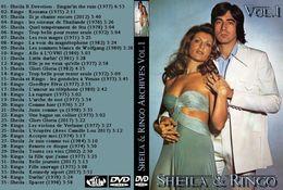 DVD SHEILA ET RINGO ARCHIVES  VOLUME 1 - Concert & Music
