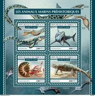 DJIBOUTI 2017 - Water Prehistorics. Official Issue. - Préhistoriques
