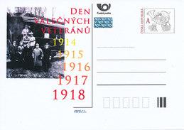 Tschech. Rep. / Ganzsachen (Pre2012/61) Der Veterans Day (11. November 1918) - 1. Weltkrieg