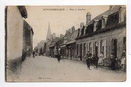 - CPA STEENBECQUE (59) - Rue à Louches (avec Personnages) - Edition J. Stoven - - France