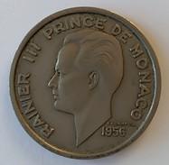 MONACO - 100 Francs 1956 - RAINIER III - - 1949-1956 Anciens Francs