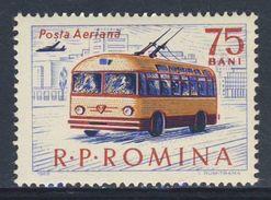 Romania Romana Rumänien 1963 Mi 2163 Aero YT A186 ** Trolley Bus / Obus - Transport - Bussen
