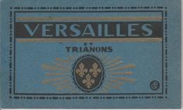 18 / 1 / 79   -  Dépliant  VERSAILLES  &  TRIANON - Cartoline