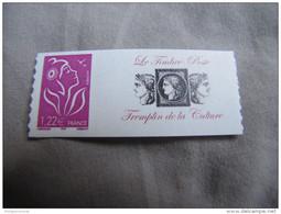 PERSONNALISE - 3802C LAMOUCHE 1.22 ROSE LOGO TREMPLIN DE LA CULTURE - Personalized Stamps