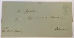 KIRCHDORF 1867 (Sulingen) Brief > Stolzenau (Hannover Altdeutschland Cover - Hanover