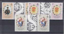 DIANA ET CHARLES - 1981 - PAIRE AVEC PONT DE FEUILLET - MICHEL 299**-301** - Ascension (Ile De L')