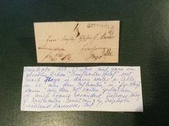 """DIEPHOLZ 1850 Brief """"AUS DEM BRIEFKASTEN"""" > Hoya > Celle (Hannover Altdeutschland Cover Vorphilatelie - Hanover"""