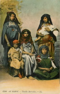 MAROC, Famille Marocaine, Carte écrite A Fez (scan Recto-verso) KEVREN0239 - Sonstige