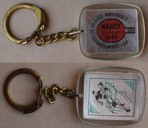 Porte-clefs . Keychain . Key Ring . Tennis De Table . Ping-Pong . Championnats De France Individuels En 1966 à NANCY - Table Tennis