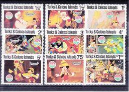 WALT-DISNEY -   MICHEL -503** -511**- 1980 - Turks & Caicos (I. Turques Et Caïques)