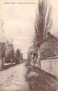 RARE CPA Plessis-Trévise Avenue De Chennevières M928 - Le Plessis Trevise