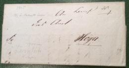 """HDS """"LEMFÖRDE"""" 1805 Brief > Hoya  (Hannover Altdeutschland Cover Vorphilatelie Vorphilabrief - Hanover"""