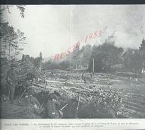 MILITARIA 14/18  COUPURE DE PRESSE MILITAIRE DU JOURNAL ILLUSTRATION DANS LES VOSGES CHASSEURS ALPINS SHIRMECK : - 1914-18