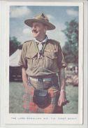 THE LORD ROWALLAN  M.C  T.D  CHIEF SCOUT - GB POUR LA SUISSE 1954 - Scoutisme