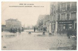 Villeneuve-Saint-Georges - Crue De La Seine - Place De La Gare - Villeneuve Saint Georges