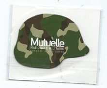 16118 - MAGNET MUTUELLE MILITAIRE - LE CASQUE - Advertising