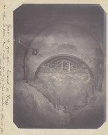 TUNNEL DE VIERZY : Effondrement Volontaire, 13 Janv 1915, Eboulis Côté Soissons. Quadruplement. Photo Originale - Trains