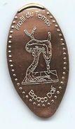 16122 - PIECE ECRASÉE TOURISTIQUE  -  ESPACE DALI - PROFIL DU TEMPS - PARIS - Pièces écrasées (Elongated Coins)