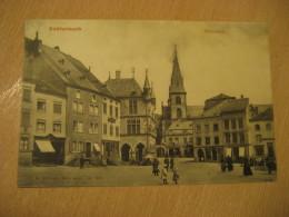 ECHTERNACH Marktplatz Post Card Grevenmacher Luxembourg - Echternach