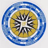 Rosa Dei Venti (adesivo) - Maritime & Navigational