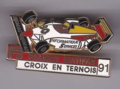 Pin's FRANCK MATIFAS CROIX EN VERNOIS 91 SIGNE ARTHUS BERTRAND - Arthus Bertrand