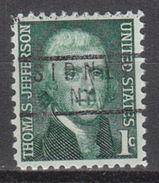 USA Precancel Vorausentwertung Preo, Locals New York, Sidney 837 - Vereinigte Staaten