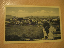 FULDA Post Card Hesse Kassel Germany - Fulda