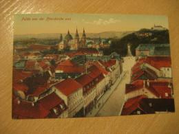 FULDA Pfarrkirche Post Card Hesse Kassel Germany - Fulda