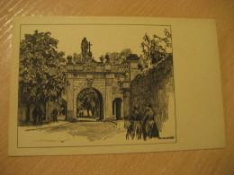 FULDA Paulstor Post Card Hesse Kassel Germany - Fulda