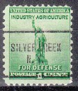 USA Precancel Vorausentwertung Preo, Locals New York, Silver Creek 704 - Vereinigte Staaten