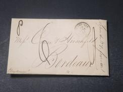 ETATS - UNIS - Lettre De New Orléans En 1841 Pour Bordeaux - L 11299 - …-1845 Vorphilatelie